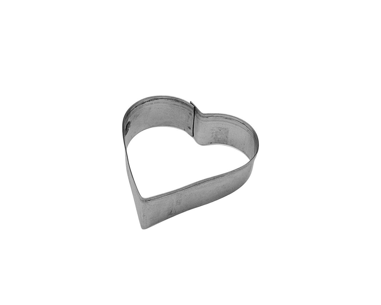 Kakmått 8cm Stål Hjärta