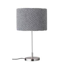 Bordslampa Grå Metall 62cm