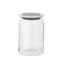 GOODIES oppbevaringsburk med lokk, glass - 1 L