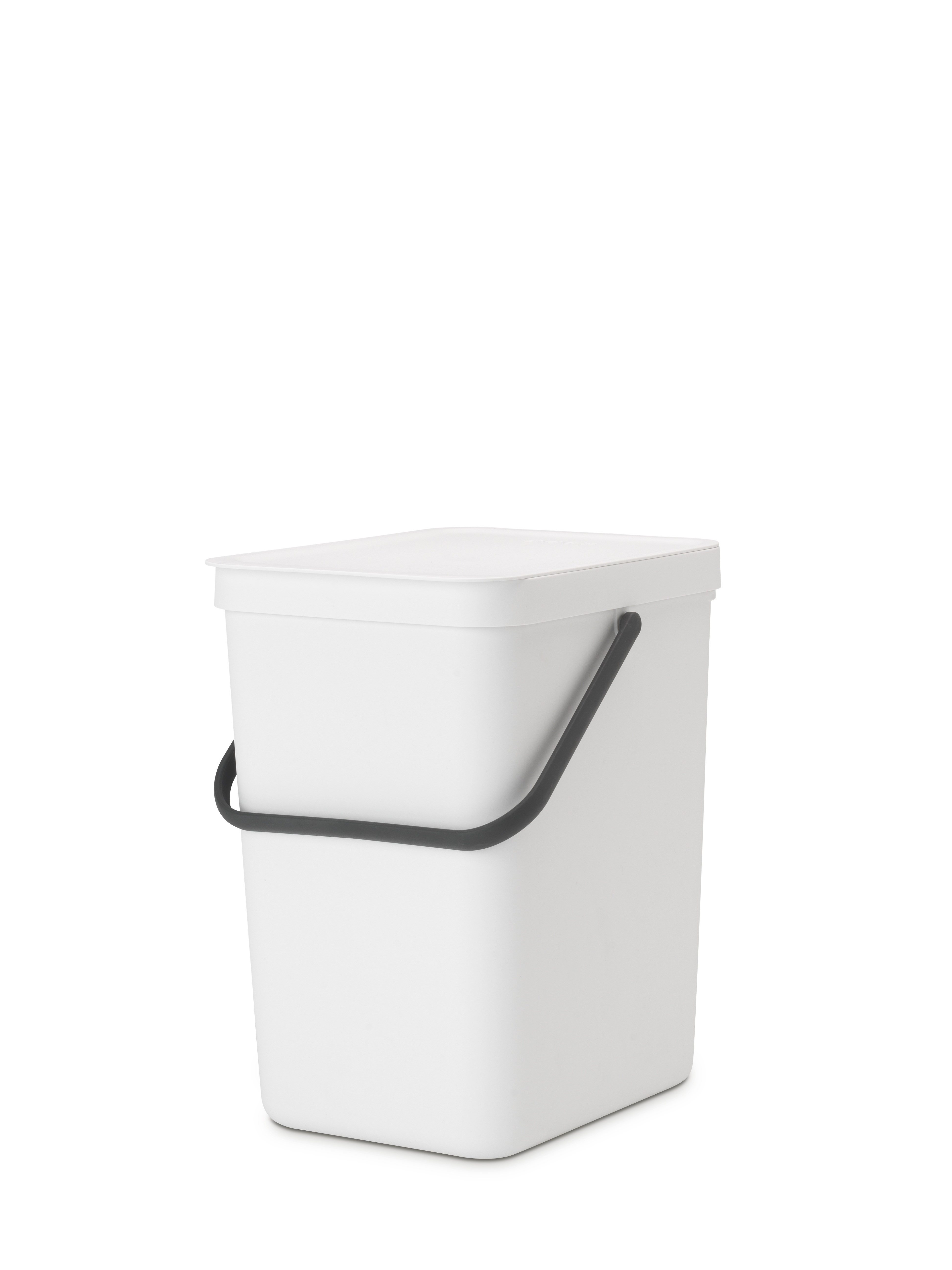 Sort & Go Avfallshink Vit 25 liter