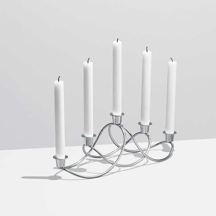 Maria Berntsen Harmony kynttilänjalka Ruostumaton teräs