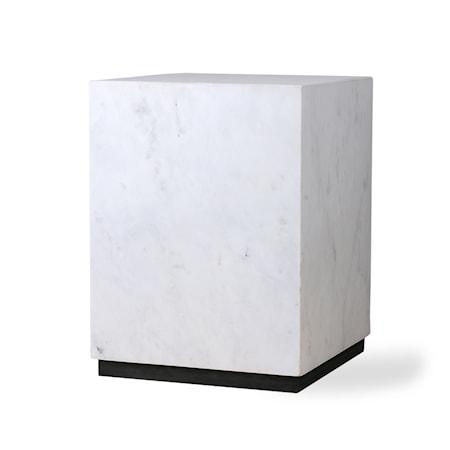 White Marmor block table M