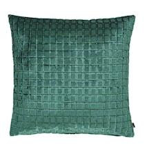 Bursa Putetrekk 45x45 Rutor - Grønn