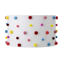 Lampskärm Multi-color Polyester