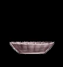 Oyster Skål Plommon 23x18cm