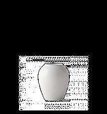 Vase Rhombe blanc 16,5 cm