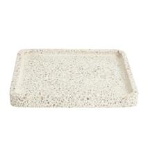 Terrazzo Bricka Vit/beige Square