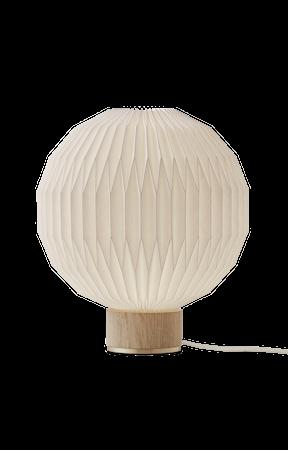 Model 375 Bordslampa Small Ljus Ek Fot Papper Skärm