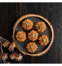 Sunflower Cakelet Pan Brons