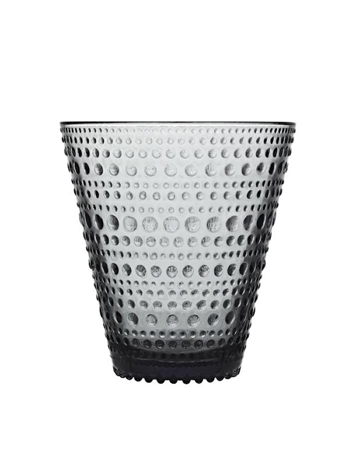Kastehelmi Glas 30 cl Mörkgrå 2 st