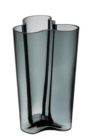 Aalto vas 25cm mörkgrå