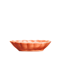 Oyster Skål Orange 23x18cm