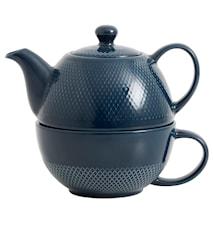 Tekanne «Tea for one» Ø 12 cm - Blå