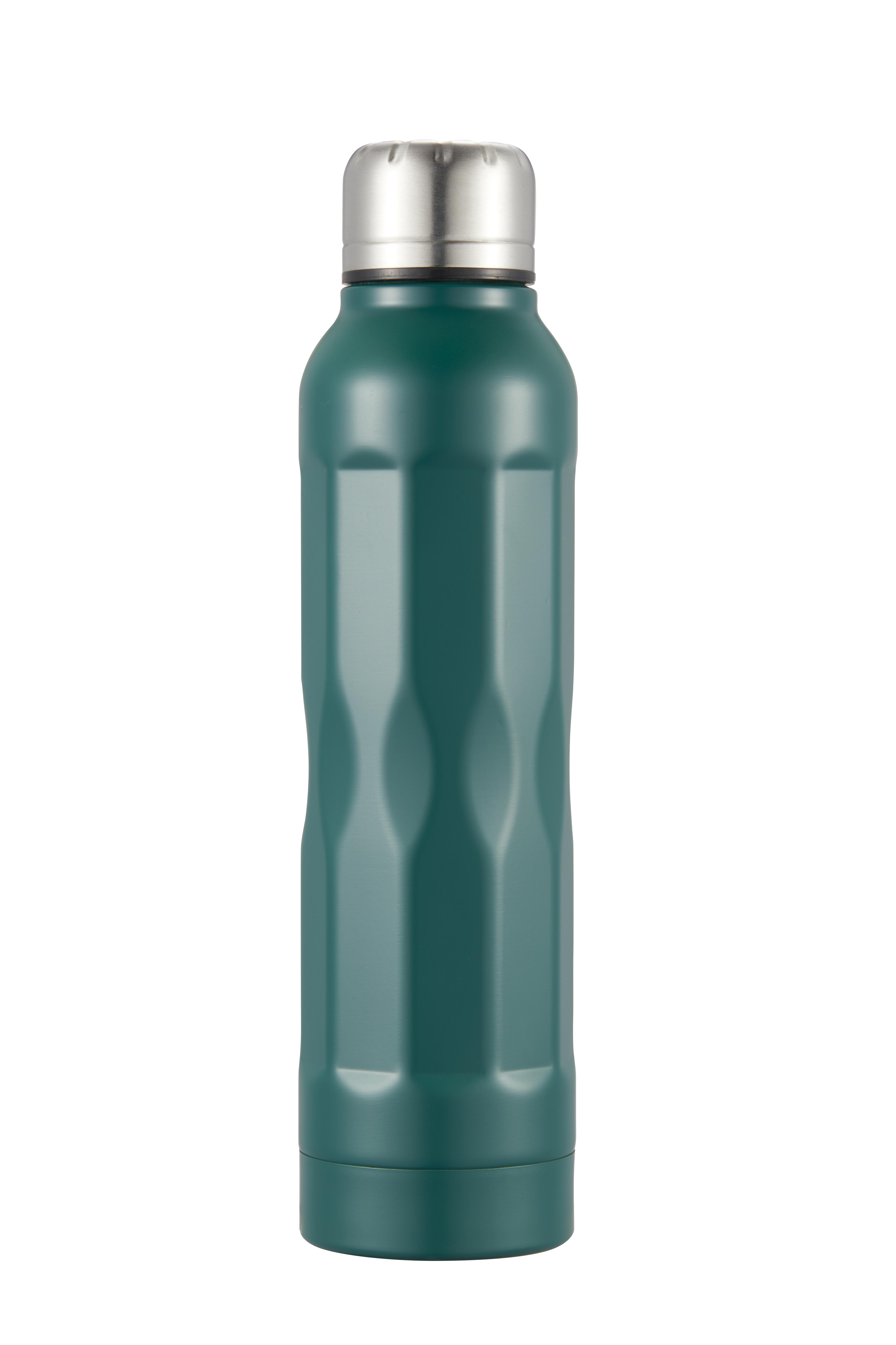 Tia Vakuumflaska mörkgrön rostfritt stål 35 dl