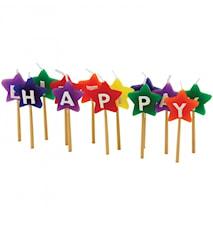 Happy Birthday Ljus Stjärnor