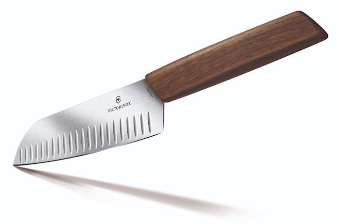 Swiss Modern Santokukniv 17cm Presentask