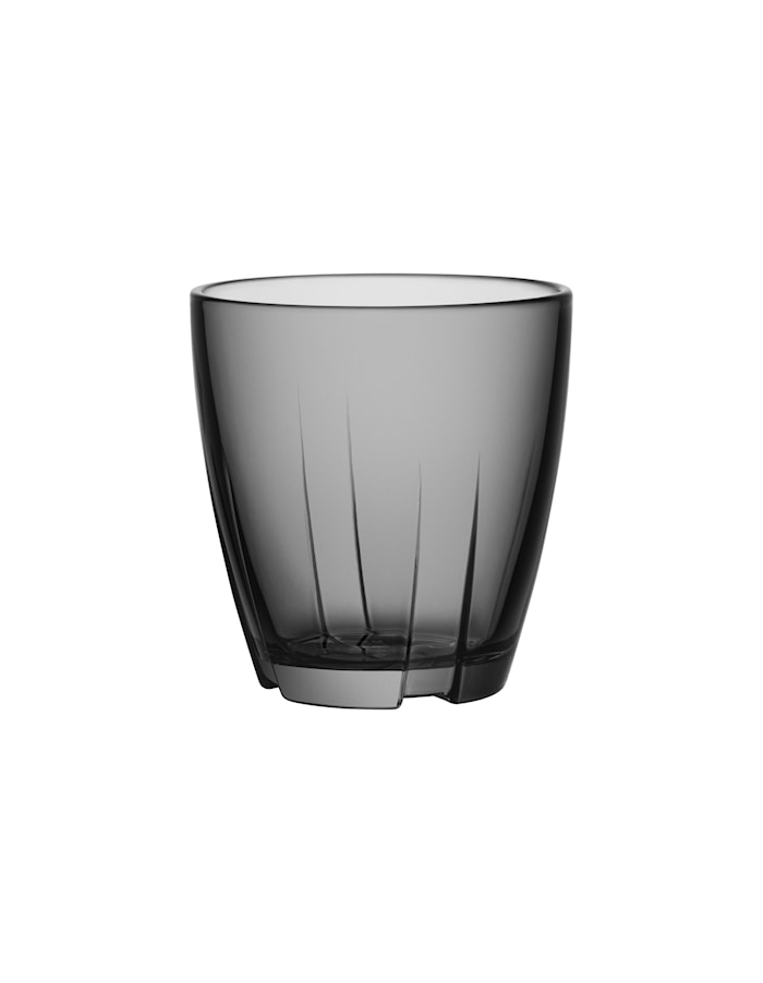 Bruk Grå Dricksglas Liten 2-pack