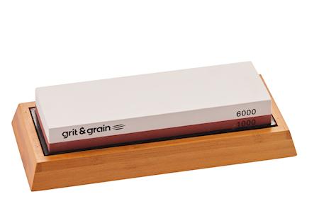 Våtslipestein med Stativ 1000/6000 Grit