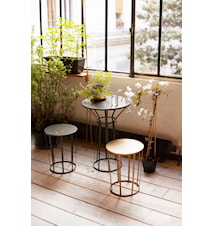 Hollo bistro table - Gull