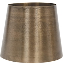 Mia Metal Lampeskærm Råmessing 20cm