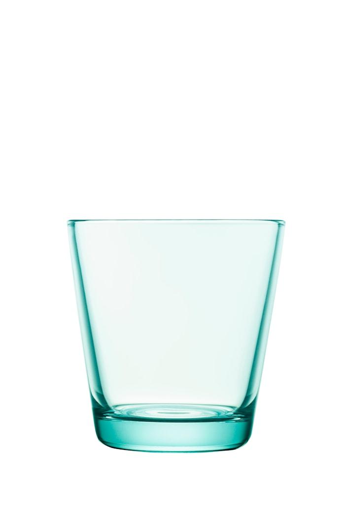 Kartio Glas Vandgrøn 21 cl 2-pak