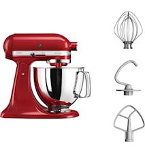 Artisan 125 Køkkenmaskine 4,8 liter Rød 5KSM125EER
