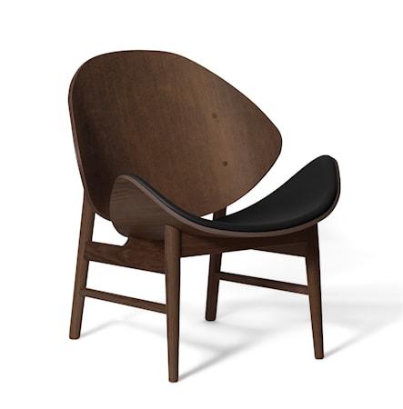 The Orange Lounge Chair S Svartlackad Ek