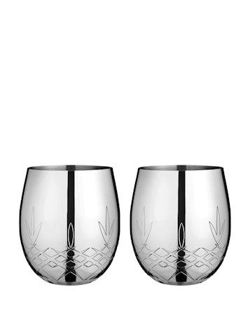 Crispy Glas Silver 37,5 cl 2-pack