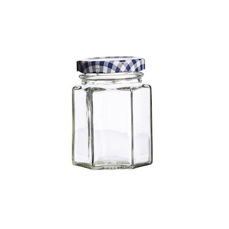 Kantet glass m/skrulokk 11cl