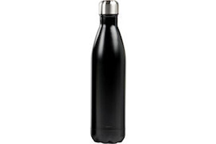 Ståltermos flaska 0,75 L svart
