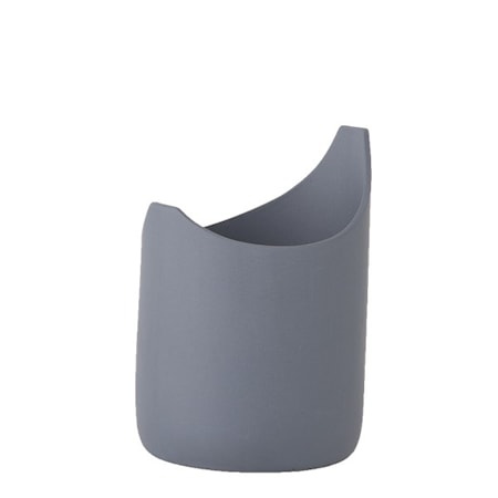 Vase Porselen Blå 13,5 cm