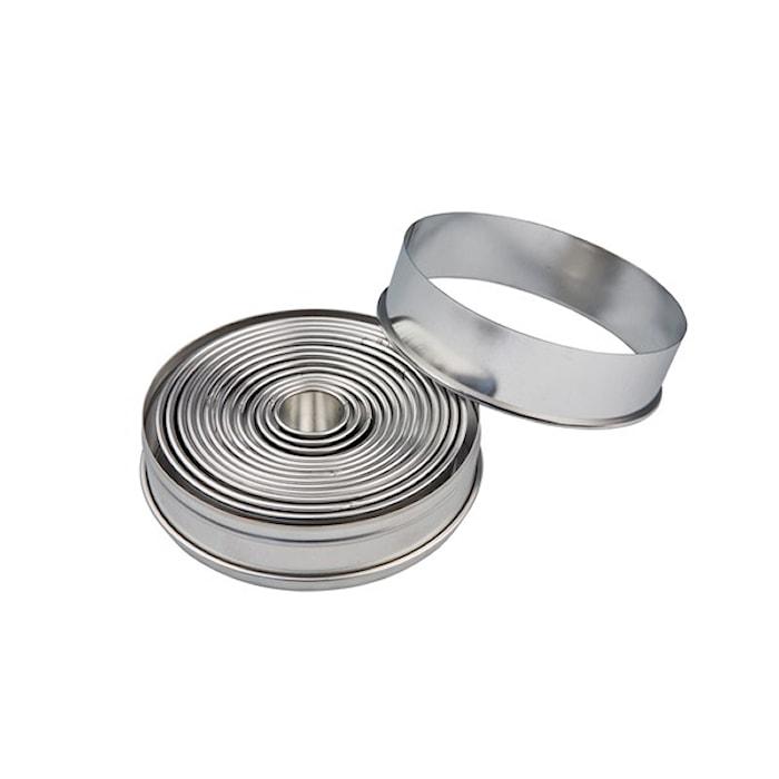 Kakmåttset Ringar 14 delar