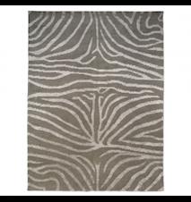 Zebra Tæppe Beige/Hvid 250x350 cm
