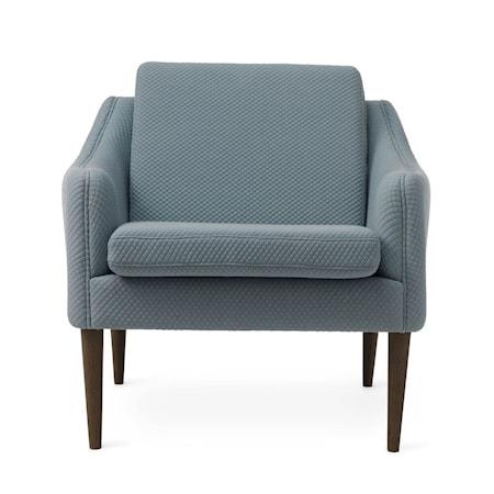 Mr. Olsen Lounge Chair Cloudy Grey Smoked Ek