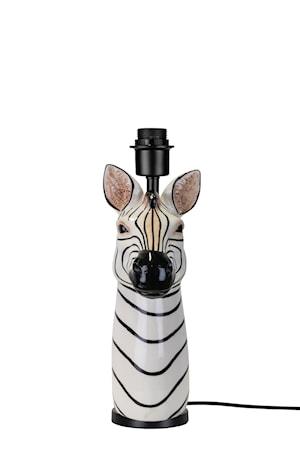 Bordfot Zebra Svart/Vit