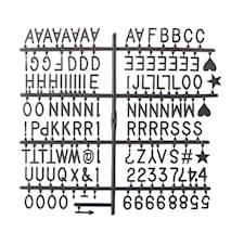 Tavle Letters - 50x35 cm