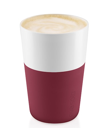 Cafe Latte-mugg Pomegranate