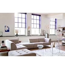 Sofabord sæt af 2 Metal/Messing 62x62x41cm - 46x46x45cm