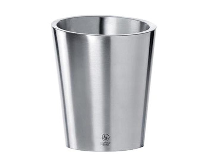 Champagnekylare konisk stål - 22 cm