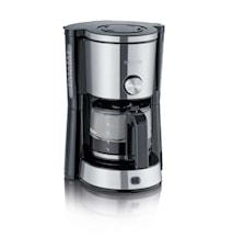 Kaffebryggare med Arominställning 10 koppar Rostfritt stål