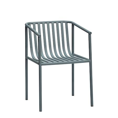 Stol Metall Grå