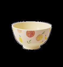 Happy Fruits Skål D:11 cm Melamin Gul/Orange