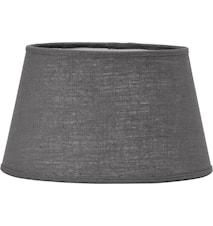 Indi Lampeskjerm Lin Grey 38 cm