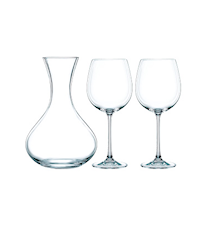 Carafe + 2 verres à vin Vivendi
