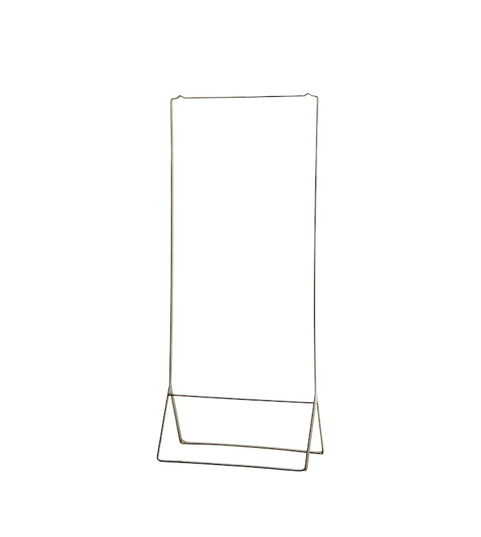 Tøjstativ 50x28x120 cm - Messing