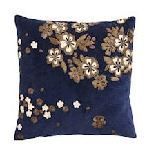 Tyynynpäällinen Brodeerattu Flowers