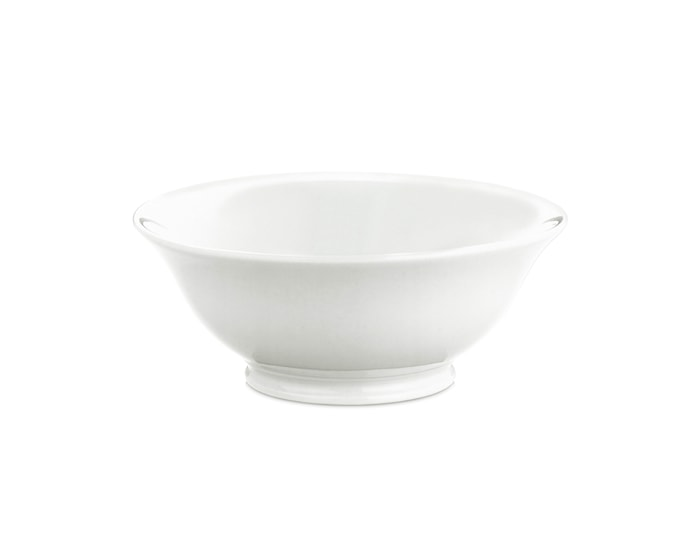 Salatskål nr. 5 hvit, 26 cl Ø 13 cm