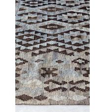Kelim handvävd matta – Mörk