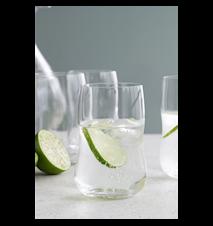 Future Vattenglas klar 37 cl 4 st