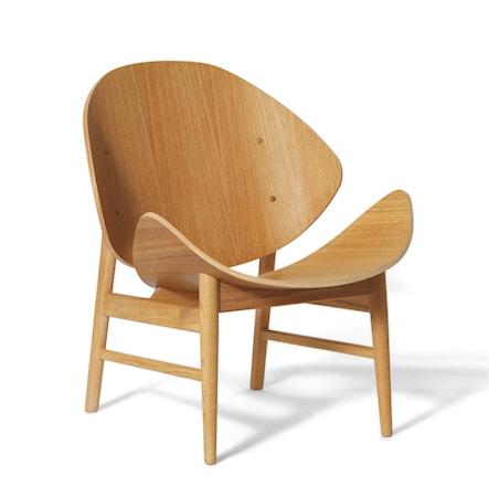 The Orange Lounge Chair Vitoljad Ek
